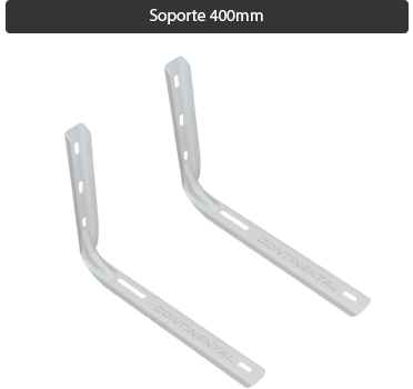 Soporte Split sin soldadura estampado 400mm